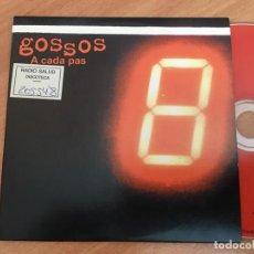 CDs de Música: GOSSOS (A CADA PAS) CD SINGLE PROMO 4 TRACK ESPAÑA (CDIB8). Lote 199281476