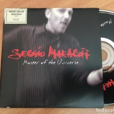 CDs de Música: SERGIO MAKAROFF (MASTER OF THE UNIVERSE) CD SINGLE PROMO 1 TRACK ESPAÑA (CDIB8). Lote 199281543