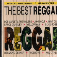 CDs de Música: REGGAE. THE BEST REGGAE. JOHN HOLT. ERROL QUINKLEY. YELLOWMAN. DESMON DEKER.... CD. Lote 199281858