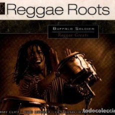 CDs de Música: REGGAE. ROOTS. BUFFALO SOLIDIER. REGGAE CLASSICS. SET PACK TRIPLE CD.. Lote 199286323