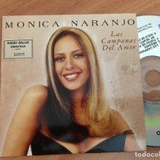 CDs de Música: MONICA NARANJO LAS CAMPANAS DEL AMOR) CD SINGLE PROMO 4 TRACK (CDIB8). Lote 199296915