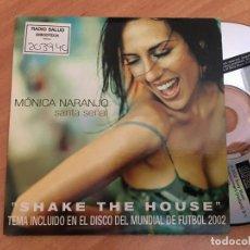 CDs de Música: MONICA NARANJO (SANTA SEÑAL SHAKE THE HOUSE) CD SINGLE PROMO 2 TRACK (CDIB8). Lote 199297033