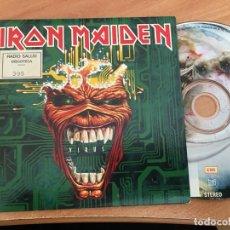 CDs de Música: IRON MAIDEN (VIRUS) CD PROMO 2 TRACK (CDIB8). Lote 199303368