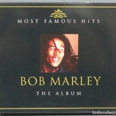 CDs de Música: CD. BOB MARLEY. MOST FAMOUS HITS. THE ALBUM. Lote 199308001