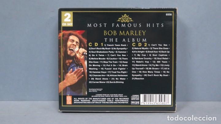 CDs de Música: CD. BOB MARLEY. MOST FAMOUS HITS. THE ALBUM - Foto 2 - 199308001