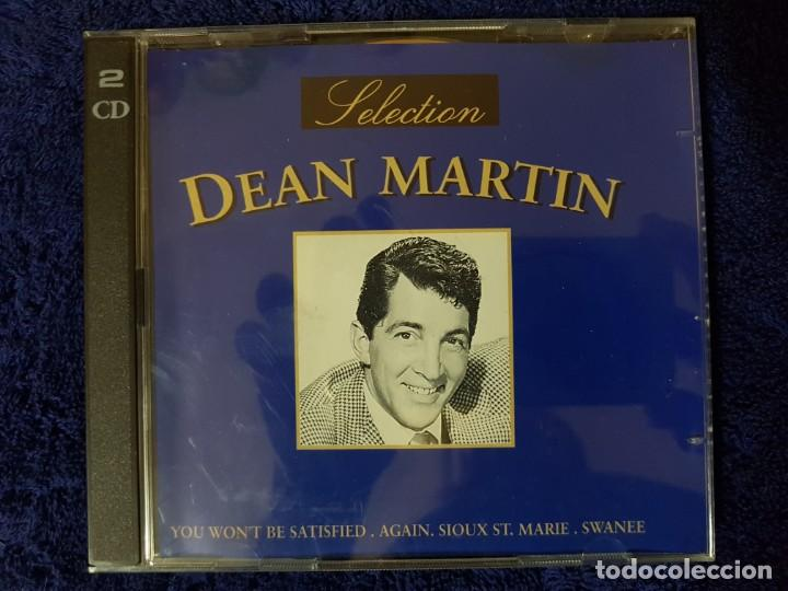 DISCO DOBLE DEL GRAN DEAN MARTIN DEL RAT PACK CON 36 TEMAZOS CLÁSICOS. DEAN MARTIN SELECTION. 2 CD (Música - CD's Melódica )