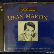 CDs de Música: DISCO DOBLE DEL GRAN DEAN MARTIN DEL RAT PACK CON 36 TEMAZOS CLÁSICOS. DEAN MARTIN SELECTION. 2 CD. Lote 199338518