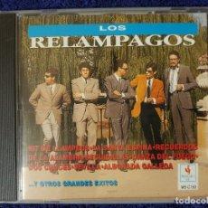 CDs de Música: LOS RELÁMPAGOS CON SUS 20 MEJORES CANCIONES. (MUSICAL 1) UN GRAN RECOPILATORIO. Lote 199338696
