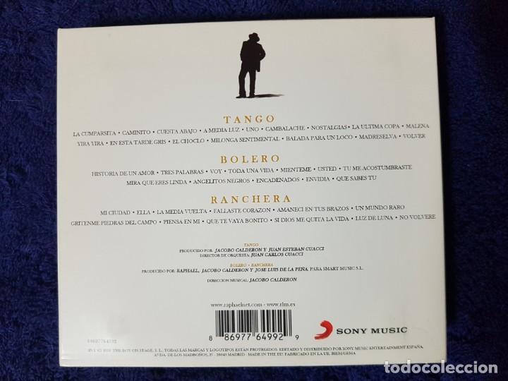 CDs de Música: Raphael (Te Llevo en el Corazón) Tango Bolero Ranchera. Discazo en 3 CD. una Joya - Foto 2 - 199339107