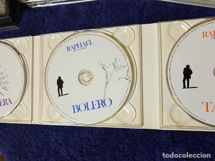 CDs de Música: Raphael (Te Llevo en el Corazón) Tango Bolero Ranchera. Discazo en 3 CD. una Joya - Foto 3 - 199339107