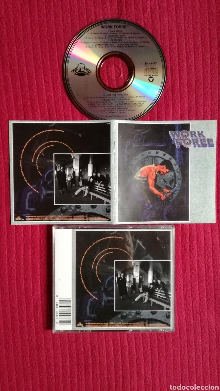 WORK FORCE: S/T. GRAN AOR CD.1989 SCOTTI BROS. MUY DIFÍCIL. (Música - CD's Rock)
