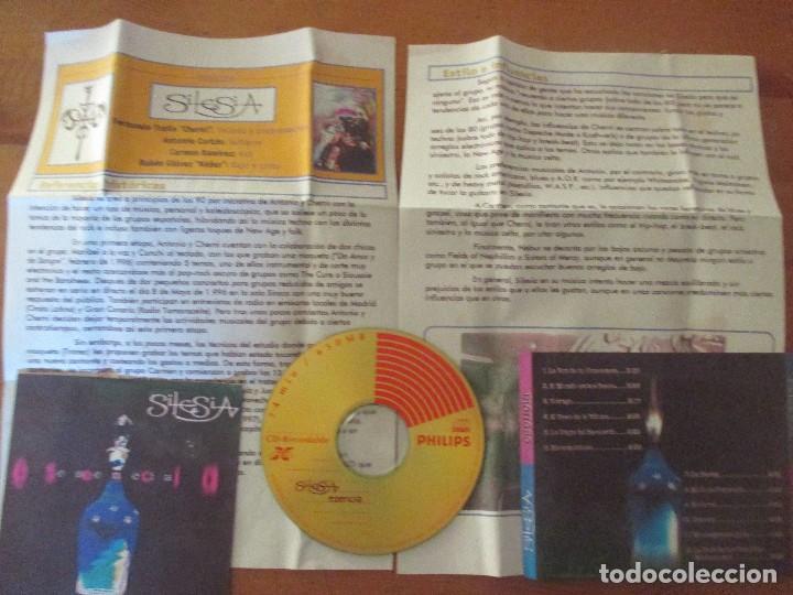 CDs de Música: SILESIA ESENCIA DEMO MAQUETA 12 CANCIONES CON DOSSIER METAL GÓTICO ELECTRÓNICA - Foto 4 - 199416755