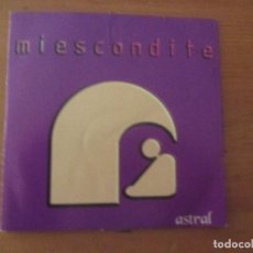 CDs de Música: MI ESCONDITE ASTRAL DEMO MAQUETA 2005 5 CANCIONES TECNOPOP INDIE . Lote 199416986