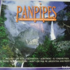 CDs de Música: FLAUTA DE PAN. PANPIPES. 60 HAUNTING PANPIPE FAVOURITES. SONGS OF THE ANDES. ESTUCHE 3 CD´S. Lote 199426555