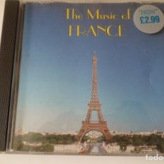 CDs de Música: THE MUSIC OF FRANCE. MUSICAS DEL MUNDO FRANCIA. Lote 199428326