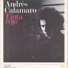 CDs de Música: ANDRES CALAMARO - TINTA ROJA (CD DIGIPACK, GASA 2006, PRECINTADO). Lote 272350243