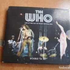 CDs de Música: DOBLE CD. THE WHO. LIVE AT ISLE ...1970. LIBRETO. BUENA CONSERVACION. Lote 199483115