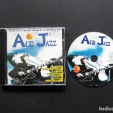 CDs de Música: ACID JAZZ Nº 1 – VARIOS – CD 1996. Lote 199494016