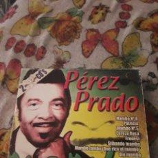 CDs de Música: PACK DE 2 CDS. PEREZ PRADO. MAMBO. EDICION DE 2001. RARO. Lote 199504630