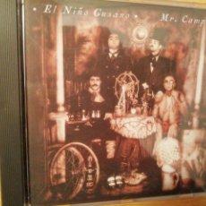 CDs de Música: EL NIÑO GUSANO. MR. CAMPING. GRABACIONES EN EL MAR, SPAIN 1997. RARO.. Lote 199512497
