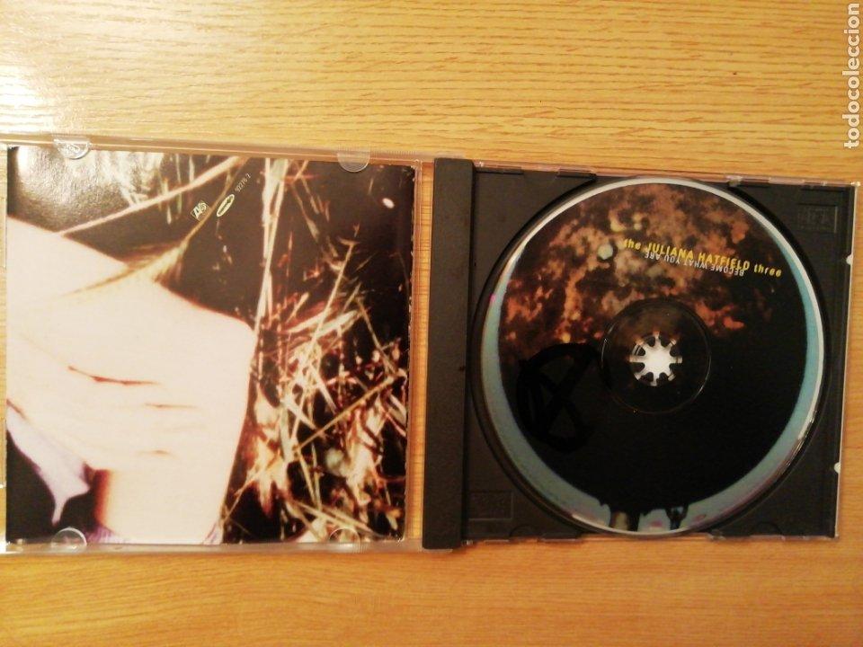 CDs de Música: The Juliana Hatfield Three. Become What You Are. - Foto 3 - 199513816