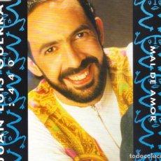 CDs de Música: JUAN LUIS GUERRA Y 4:40 - MAL DE AMOR CD SINGLE 2 TEMAS 1993 . Lote 199528040