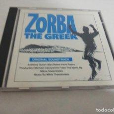 CDs de Música: ORIGINAL SOUNDTRACK ZORBA THE GREEK. Lote 199553535