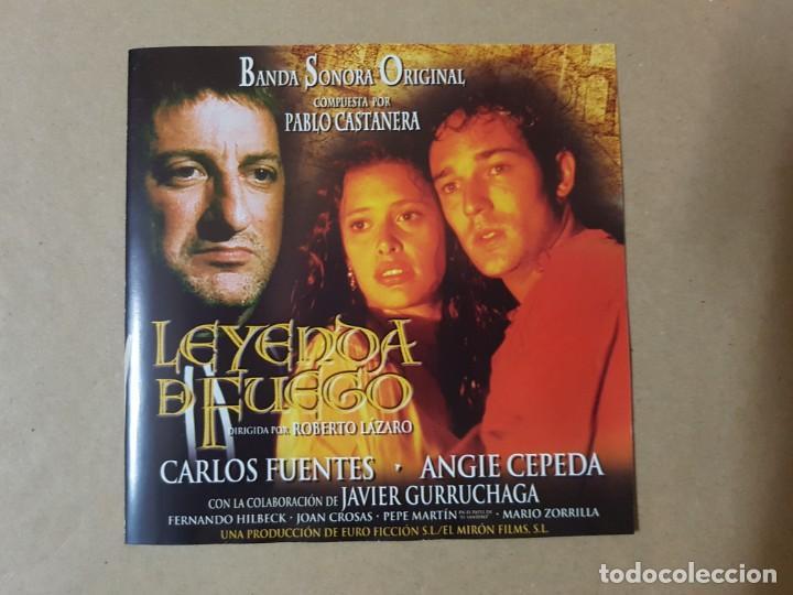 BSO ORIGINAL LEYENDA DE FUEGO CON ANGIE CEPEDA Y JAVIER GURRUCHAGA. CINE ESPAÑOL (Música - CD's Bandas Sonoras)