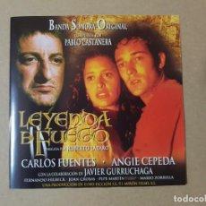 CDs de Música: BSO ORIGINAL LEYENDA DE FUEGO CON ANGIE CEPEDA Y JAVIER GURRUCHAGA. CINE ESPAÑOL. Lote 199628911