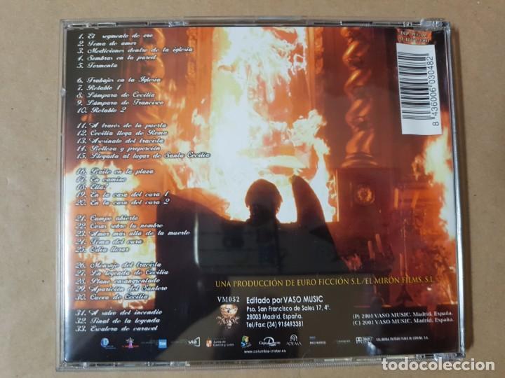 CDs de Música: BSO Original Leyenda de Fuego con Angie Cepeda y Javier Gurruchaga. Cine Español - Foto 2 - 199628911