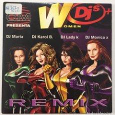 CDs de Música: CD SINGLE PROMOCIONAL - WOMEN DJ'S REMIX. Lote 199633843