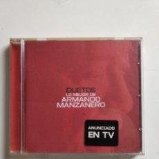 CDs de Música: ARMANDO MANZANERO - DUETOS - ÁLBUM CD. Lote 199636565