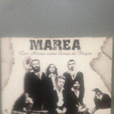 CDs de Música: MAREA / CD + DVD / LAS ACERAS ESTAN LLENAS DE PIOJOS. Lote 199638402