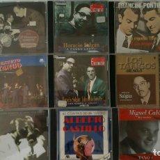 CDs de Música: LOTE 9 CD´S DE TANGO (MIGUEL CALÓ, HORACIO SALGAN, JUAN D'ARIENZO...). Lote 199652708