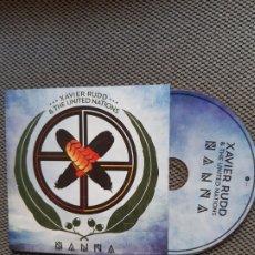 CD de Música: XAVIER RUDD & THE UNITED NATIONS- NANNA. Lote 199668518