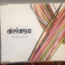 CDs de Música: DELAYS - HIDEAWAY - CD SINGLE. Lote 199726036
