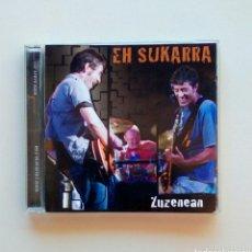 CDs de Música: EH SUKARRA - ZUZENEAN, GARA / BARNE RECORDS, 2007. EUSKAL HERRIA.. Lote 199729965