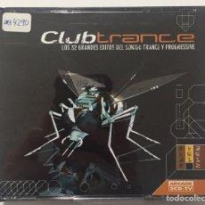 CDs de Música: CLUB TRANCE - 3 CD'S - LOS 32 GRANDES ÉXITOS DEL SONIDO TRANCE Y PROGRESSIVE. Lote 199753632