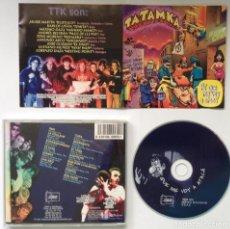 CDs de Música: TATAMKA PA' QUE ME VOY A ATACÁ CD MESTIZAJE GRANADA TRALLA RECORDS. Lote 199776067