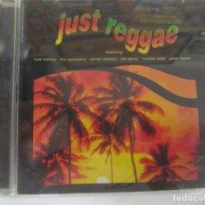 CDs de Música: CD JUST REGGAE BOB MARLEY ROMAN STEWART LEE PERRY HORACE ANDY. Lote 199786176