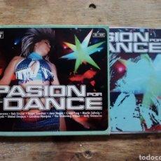 CDs de Música: CD + DVD PASIÓN POR EL DANCE. Lote 199803317