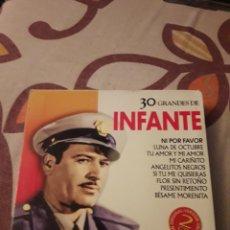 CDs de Música: PACK DE 2 CDS. 30 GRANDES DE INFANTE. EDICION RARA.. Lote 199804733