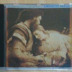 CDs de Música: AMANCIO PRADA (A DAMA E O CABALEIRO - POEMAS DE ALVARO CUNQUEIRO) CD 1992. Lote 199813497