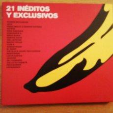 CDs de Música: 21 INÉDITOS Y EXCLUSIVOS. SINEDIN MUSIC, SPAIN 2002.. Lote 199849861