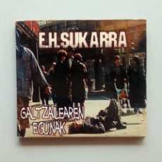 CDs de Música: E. H. SUKARRA ?– GALTZAILEAREN EGUNAK, METAK ?– M017CD, 2002. EUSKAL HERRIA.. Lote 199858271