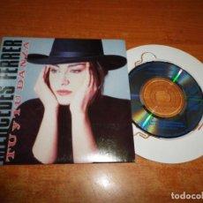 CDs de Música: MERCEDES FERRER TU Y TU DANZA CD SINGLE 3 PULGADAS 1988 CONTIENE 3 TEMAS MINI CD NACHO CANO MUY RARO. Lote 199862860