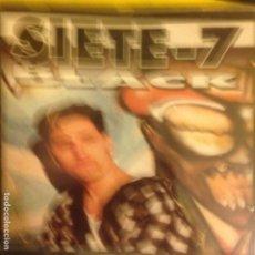 CDs de Música: SIETE 7 BLACK CD ALBUM DEL AÑO 1994 CARLOS SUAREZ 10 TEMAS PIONERO HIP HOP RAP . Lote 199888206