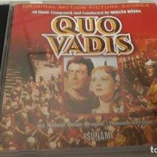 CDs de Musique: QUO VADIS (COMPOSED MIKLOS ROZSA). Lote 199933976