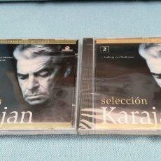 CDs de Música: LOTE DE 2 CD. SELECCION KARAJAN. VOL.1 Y 2. PRECINTADOS. Lote 199935448