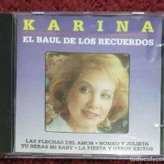 CDs de Música: KARINA (EL BAUL DE LOS RECUERDOS) CD 1994. Lote 199975576